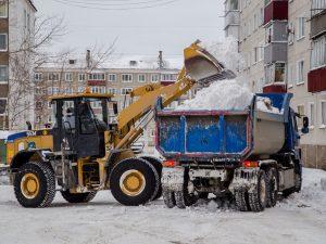 Уборка снега в Туле