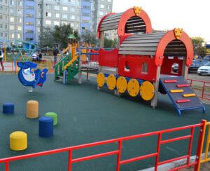 Благоустройство детских площадок МАФ